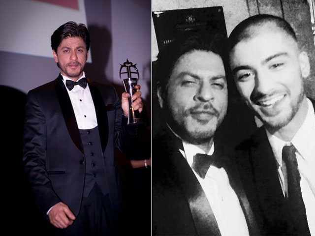 A Bromance at The Asian Awards: Shah Rukh Khan, Zayn Malik Party After Scooping Awards
