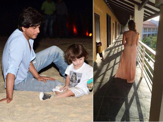 Life's a Beach For AbRam, Shah Rukh Khan's 23-Month-Old Son