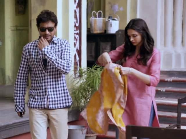 Deepika Padukone's Piku Journey With Irrfan Khan, Told Through a Song