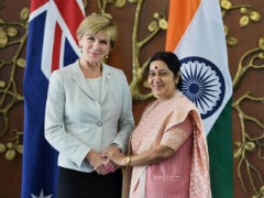 Sushma Swaraj Meets Foreign Ministers of Australia, North Korea and Belarus