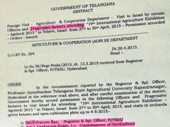 Telangana Lawmakers Turn 'Progressive Farmers' for All Expense Paid Trip to Israel