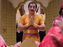 Kamal Haasan Dubs in Own Voice For Telugu <i>Uttama Villain</i>