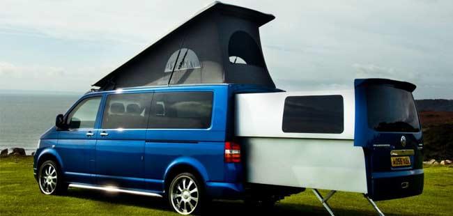 Volkswagen T5 Based Camper Van Can Be Your Home
