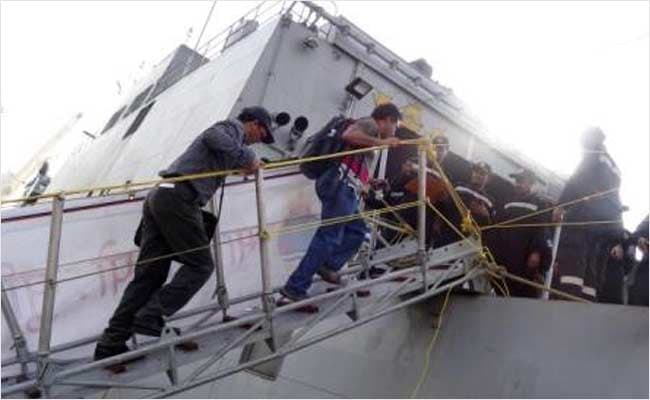 Over 300 Indians Evacuated From Yemen by Navy in Second Phase