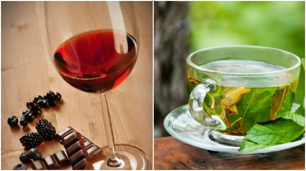 Green Tea, Red Wine, Blueberries and More: Flavonoids Can Help With Cold and Flu