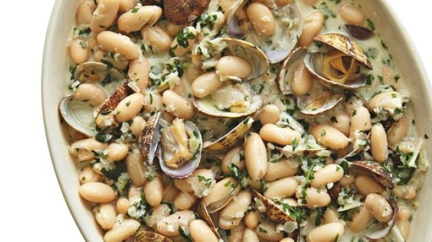 The Weekend Cook: Thomasina Miers' Spanish-Style Clams with White Beans and Chocolate Rye Cake