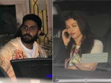 How Aishwarya and Abhishek Bachchan Spent Their Weekend