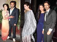 At Abhishek Kapoor's After-Wedding Party: Mahira Khan, the Rampals