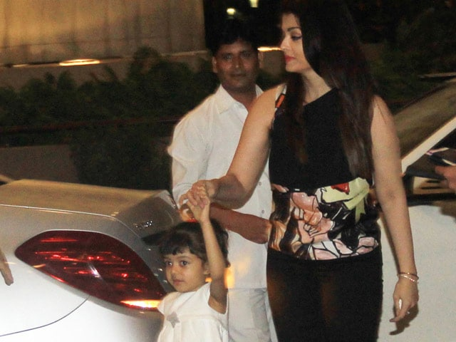 Aishwarya Rai Bachchan: Managed to Sneak Aaradhya on to Cannes Red Carpet