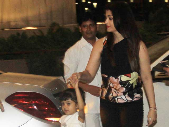 Cannes Film Festival: Aishwarya and Aaradhya Bachchan Leave For France