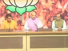 Amit Shah Addresses a Press Conference in Delhi Marking 1 Year of Modi Government: Highlights