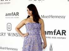 Cannes Fashion: Aishwarya Rai Bachchan Lights Up amfAR Gala in Elie Saab