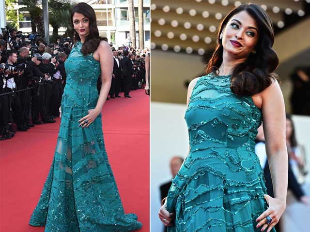Cannes 2015: Aishwarya Rai Bachchan Stops Red Carpet Traffic in Elie Saab