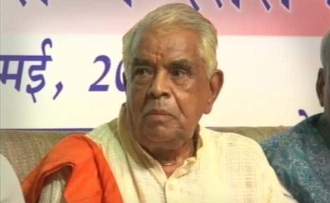 BJP's Babulal Gaur Is 'Considering' Congress Offer To Contest 2019 Polls