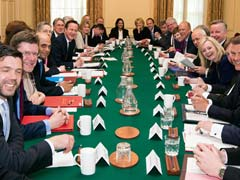 British Cabinet Meets for First Time Since David Cameron Win