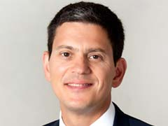 David Miliband Says World Refugee Crisis to Worsen With Climate Change