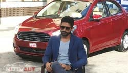 Farhan Akhtar Talks to Us About the New Ford Figo Aspire and More