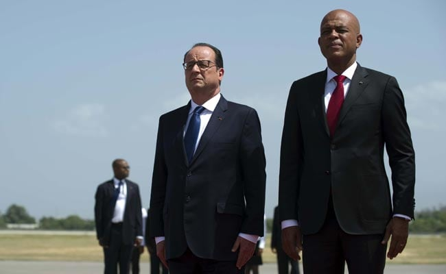Francois Hollande in Haiti to Promise Help From Resented France