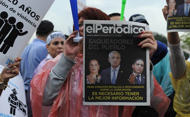 Guatemalan President Was 'Number One' in Graft Scheme: Officials