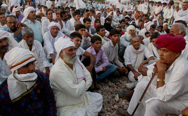 Gujjars in Rajasthan won't get reservation for the time being