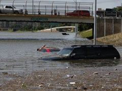Houston Submerged as Torrential Rain Wreaks Havoc in US, Mexico
