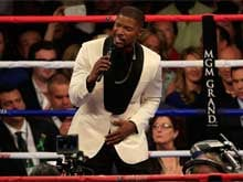Jamie Foxx Performs National Anthem For Mayweather vs Pacquiao Fight