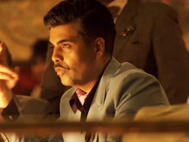 Karan Johar's Bombay Velvet Look Reminds His Mother of Yash Johar