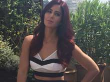 Cannes 2015: Katrina Kaif Checks in Wearing Black and White