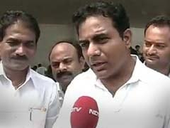 """Just One Party He Hasn't Allied With"": KTR's Dig At Chandrababu Naidu"