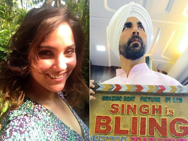 Lara Dutta 'Excited' to Shoot With 'Friend Philosopher Guide' Akshay Kumar