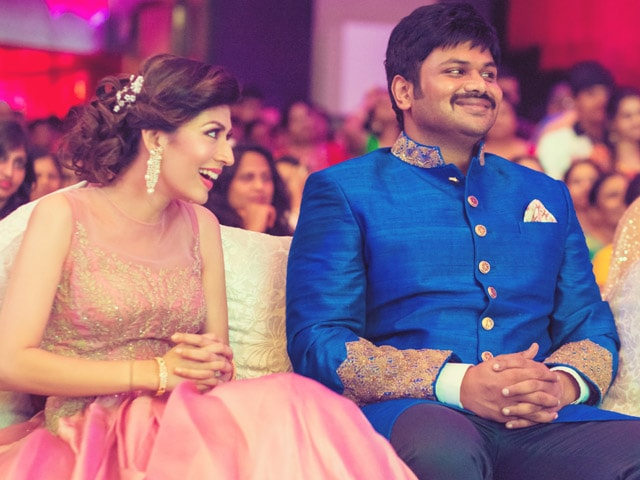 At Manoj Manchu's Pre-Wedding Festivities: Chiranjeevi, Hansika Motwani