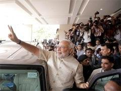 चीन में बैठकर भी नरेंद्र मोदी नहीं भूले पिछले साल 16 मई को मिली अभूतपूर्व चुनावी जीत को