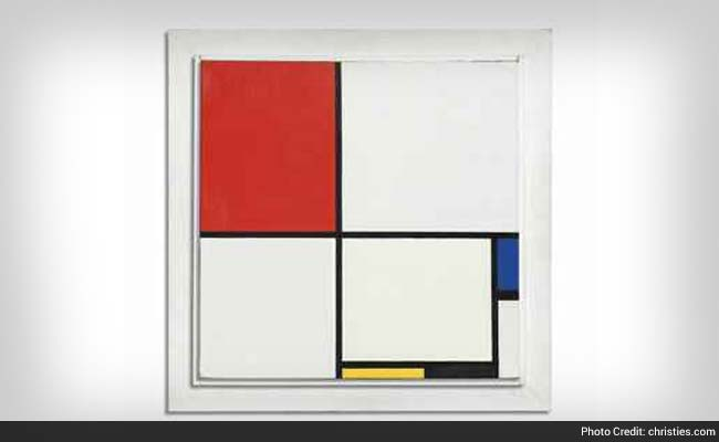 Mondrian Painting Sells For a Record $50.56 Million in New York