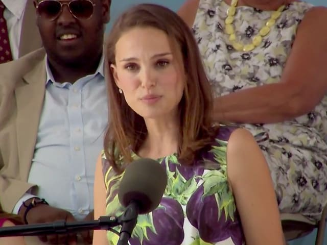 In Harvard Speech, Natalie Portman Addresses Not Feeling 'Smart Enough'