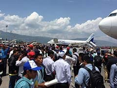 Panic at Airport in Kathmandu After Earthquakes Strike Nepal