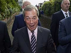 Enormous Weight Lifted From My Shoulders: UKIP Leader Nigel Farage After Losing Elections