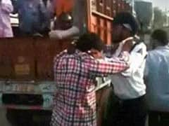 Staff of Bus Service Owned by Badals Seen Thrashing Cop in 2013 Video