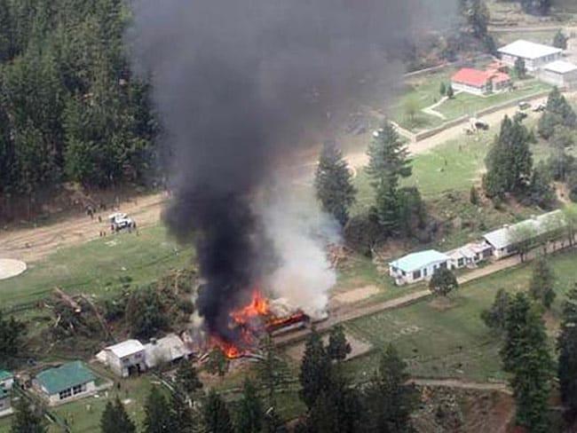 पाकिस्तान : तालिबान ने जारी किया वीडियो, पाक सेना के हेलीकॉप्टर गिराने की जिम्मेदारी ली