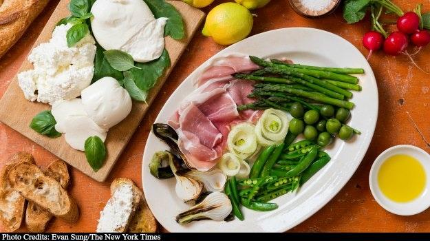 Italian Special: The Spring Antipasto Platter