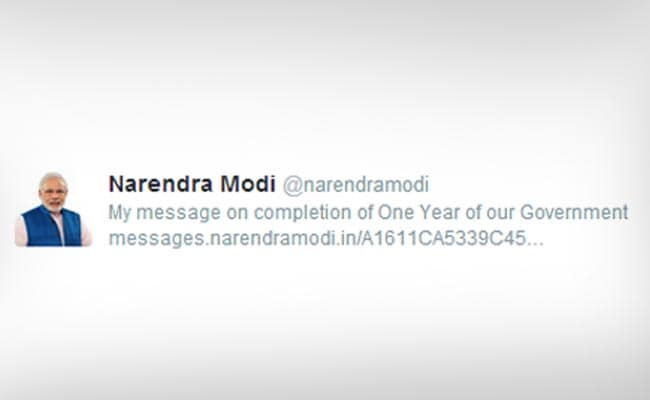 #SaalEkShuruaatAnek: Dear Citizen, PM Modi is Writing to You on Twitter