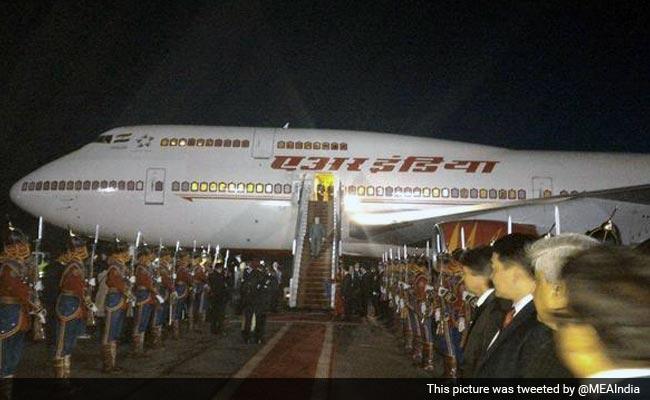 PM Narendra Modi Arrives in Mongolia on Historic Visit