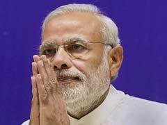 PM Narendra Modi Visits Sushma Swaraj At AIIMS
