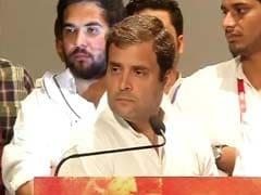 राहुल गांधी ने कहा, गरीब किसानों की जमीन हथियाने के लिए गजब की जल्दी में हैं मोदी जी