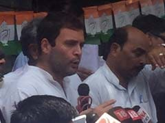 Rahul Gandhi Seeks Support From Other Parties for Amethi's Development