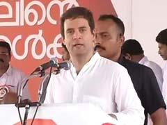 Rahul Gandhi Addresses Fishermen in Kerala's Thrissur: Highlights