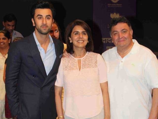 Ranbir Kapoor Wants to Make Mother Neetu 'Happy,' Father Rishi 'Proud'