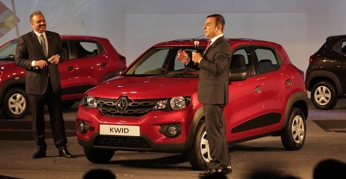 Renault Kwid Unveiled in India; Launch in Festive Season