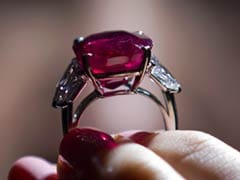 Burmese Ruby Sells for Record $30 Million at Auction
