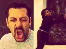 Salman Khan, Sonakshi Sinha Dubsmash Famous <i>Karan Arjun</i> Dialogue
