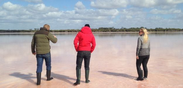 Pink Salt: Digging for an Australian Delicacy
